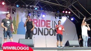 "Live: Blue ""One Love"" @ London Pride 2015 (Trafalgar Square) | wiwibloggs"