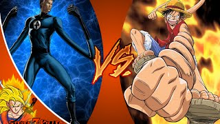 LUFFY vs MR.FANTASTIC! Cartoon Fight Club Episode 46 REACTION!!!
