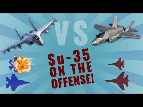 F-35 vs Su-35  (Part 1/2)
