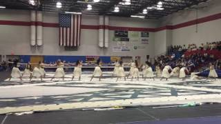 Lyman Gold Winterguard 2016