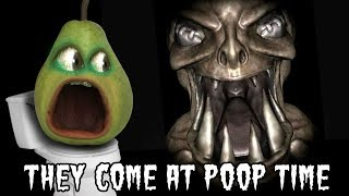 Pear Forced to Play - They Come at Poop Time 🍐💩
