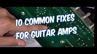 10 WAYS HOW TO FIX A GUITAR AMP AUDIO NOISE, SOUND DROPOUTS, NO POWER