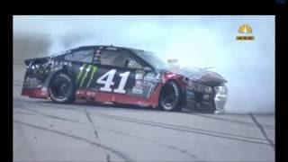 2016 Bojangles 500 - Kurt Busch/Menard Crash