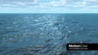 Ocean HD Stock Footage Animation from MOTIONCOW