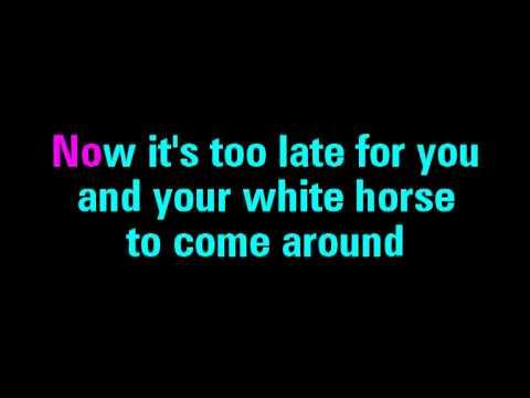 White Horse Taylor Swift Karaoke - You Sing The Hits