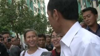 15 Apr 2013 Gub Bpk. Jokowi mengunjungi Rusun Pulo Gebang, Jakarta Timur