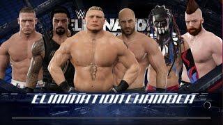 WWE 2K17   Epic Elimination Chamber Match