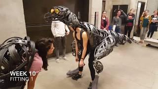 Students Build Raptor Suits in 13 Weeks
