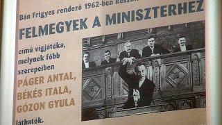 Filmvetítés a Tabánban - Felmegyek a miniszterhez