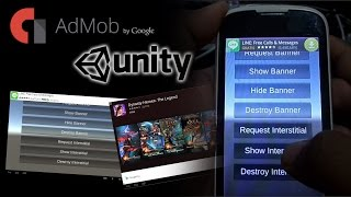 Tutorial - How to integrate Admob using Unity 5 for Android Free