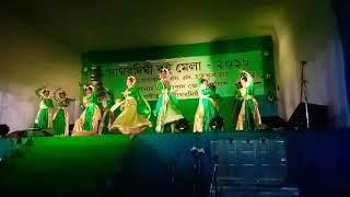 Hath dhoreche gacher pata dance..Apsara dance group.