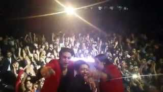 Kamran Hooman concert selfie with DJ Bliss Persian Toronto