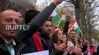 Germany: Kurdish protesters decry Iran