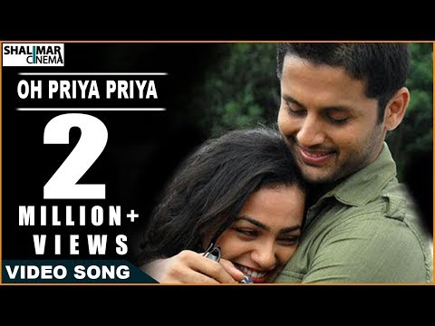Ishq Movie || Oh Priya Priya Video Song || Nitin & Nithya Menon