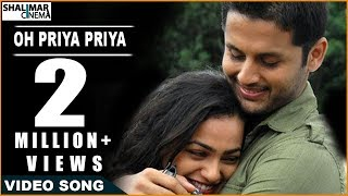 Ishq Movie || Oh Priya Priya Video Song || Nitin & Nithya Menon