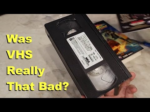 VHS Tapes Were they as bad as we remember