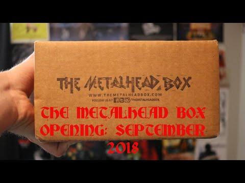 The Metalhead Box Opening: September 2018