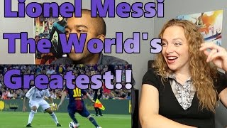 Lionel Messi   The World's Greatest   HD (Reaction 🔥)