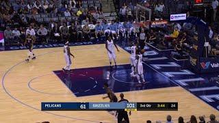Quarter 3 One Box Video :Grizzlies Vs. Pelicans, 10/12/2017
