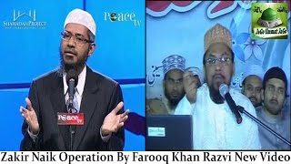 Farooq Khan Razvi New Video By Dr. Zakir Naik - Peace TV Operation Watch Video