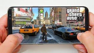 Es Posible GTA IV para Móviles? y Desmintiendo Gameplay Fake!!