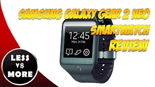 Samsung Wearable Technology Galaxy Gear 2 Neo SmartWatch Review