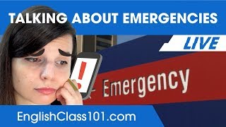 How to Talk About Emergencies in English - Improve English Conversations 🔴
