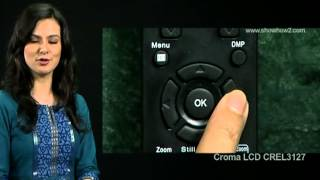 Croma LCD TV - How to Unlock a Channel
