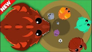 Mope.io *NEW* LANDMONSTER AND BLACKHOLE ABILITY // Mope.io Bests Moments and Kills
