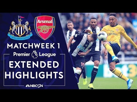 Newcastle v. Arsenal PREMIER LEAGUE HIGHLIGHTS 8 11 19 NBC Sports