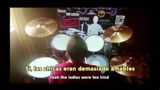 AC DC Thunderstruck cover batería drum
