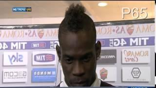 Balotelli litiga in diretta Tv con Marocchi e Boban