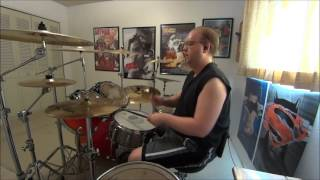 Under The Covers - Korn - Never Never DRUM COVER / The Drum Show