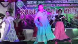 ash karenge song. 2016 celebrations in college of agricultural engineering bapatla (CAE).