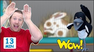Animal Story for Kids + MORE Stories for Children from Steve and Maggie   Learn Wow English TV