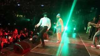 CAPLETON AND SHABBA RANKS - LIVE PERFORMANCE AT BARCLEYS CENTER NY