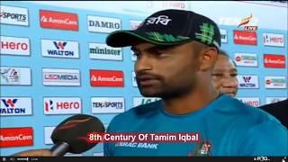 তামিম  ইকবাল এর ৮ম সেঞ্চুরি/ Bangladesh Vs Srilanka , Bangladesh won by 90 runs, তামিম বনাম শ্রীলংকা