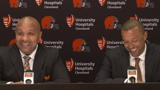 Brown & Jackson Draft Day 1 Press Conference