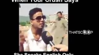 Desi funny English speaking boy