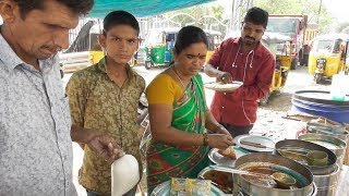 Everything Managed by Husband Wife & Son - Unlimited Rice with Non Veg @ 60 rs