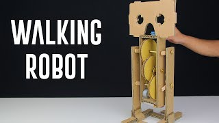 How To Make a Simple Walking Robot?