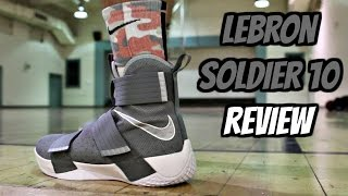 Nike Zoom LeBron Soldier 10 Performance Review!