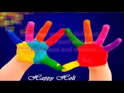 Happy Holi 2016 - beautiful Holi wishes, Greetings, images, Whatsapp Video download 2