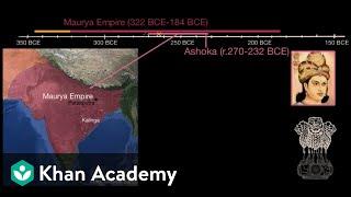 Chandragupta, Ashoka and the Maurya Empire  | World History | Khan Academy