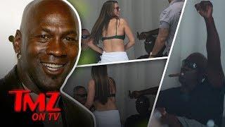 Michael Jordan Gets Sexy Bikini Dance   TMZ TV