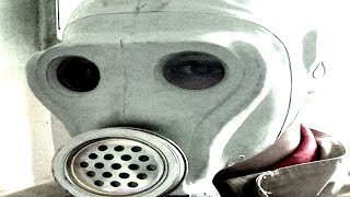 Soviet ShMS Gas Mask review and test