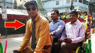 দেখুন দেশজুড়ে তোলপার, কে এই কোট টাই পরা রিক্সাওয়ালা? তার এ হাল কেনো | Smart | Rickshaw | puller