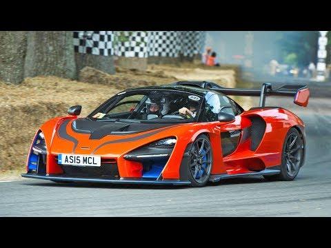 The McLaren Senna Goes WILD