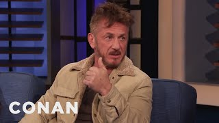 Sean Penn Always Shows Up Where There's Trouble - CONAN on TBS