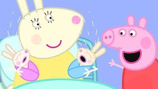 Peppa Pig English Episodes   Robbie and Rosie Rabbit!  Peppa Pig Official